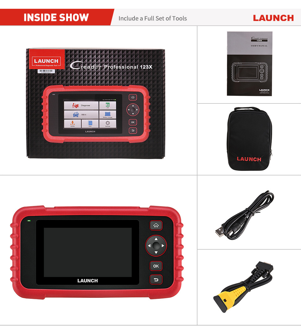LAUNCH CRP123X OBD2 Code Reader