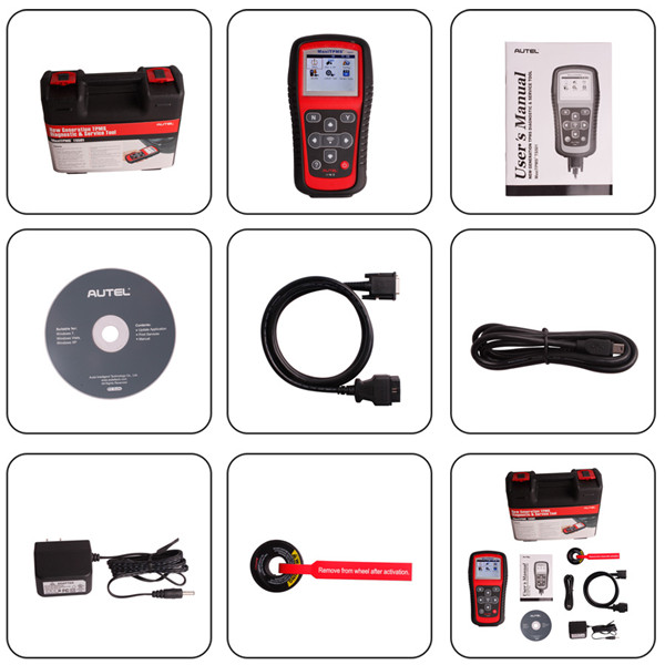 tpms diagnostic tool ts501 package list