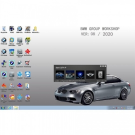 V2020.8 BMW ICOM Software ISTA-D 4.24.13 ISTA-P 3.67.1.000 with Engineers Programming Win7 System 50
